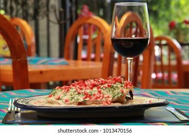 Mexican Cuisine Chile en Nogada