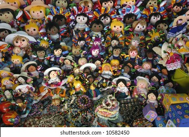 Mexican Dolls on Display