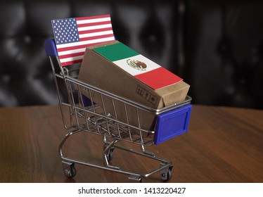 Mexican exports to the United States. Mexican goods