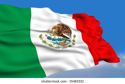 Mexican Flag.