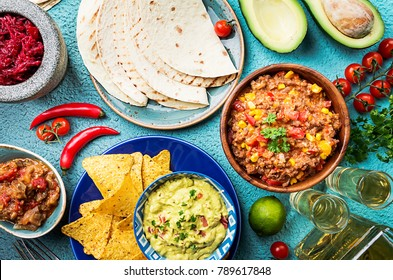 Mexican food mix