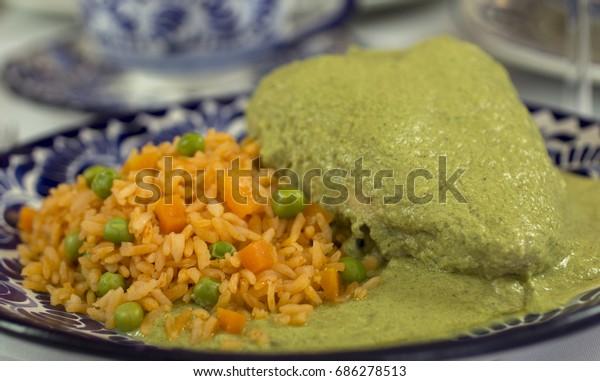 Mexican green mole