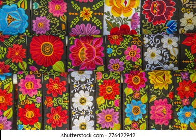 Mexican Hand Embroidered Belts