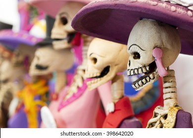 Mexican handicraft, day of the dead (skeleton)