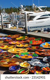 Mexican Handmade Art For Sale on the Marina in Cabo San Lucas