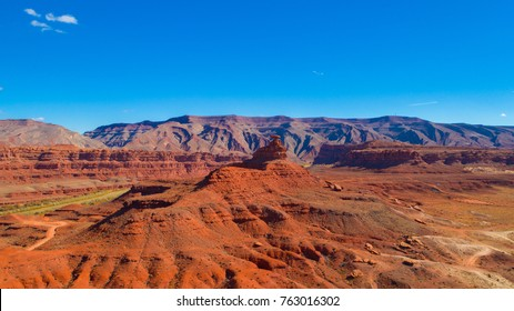 Mexican Hat Rock Formation. Utah. USA.
