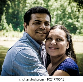 Mexican Husband and Wife being together