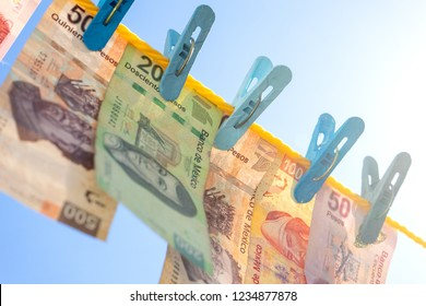 Mexican money laundering concept