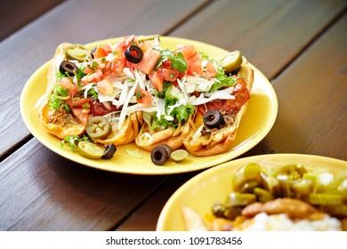 Mexican nacho salad