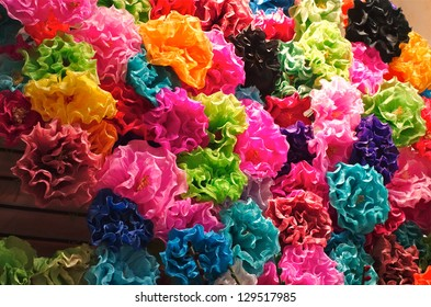 Mexican paper images stock photos vectors shutterstock mexican paper flowers mightylinksfo