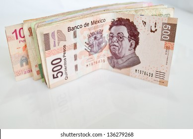Mexican Pesos bills
