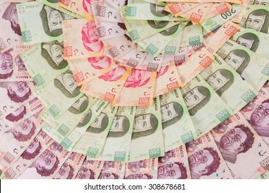Mexican pesos, bills of 50, 100, 200, 500
