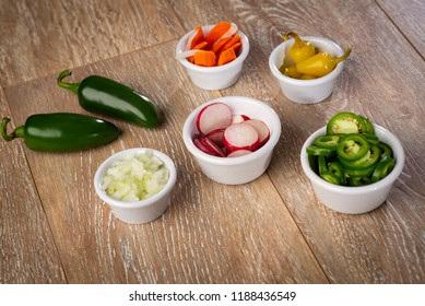 Mexican spicy Ingredients