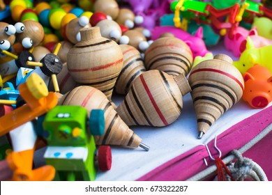 Mexican spinning toys
