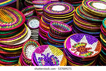 Mexican  traditional baskets