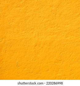 Mexican yellow rough wall for background