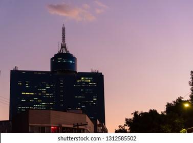 MEXICO CITY, MEXICO - CIRCA FEBRUARY 2019: WTC Mexico City