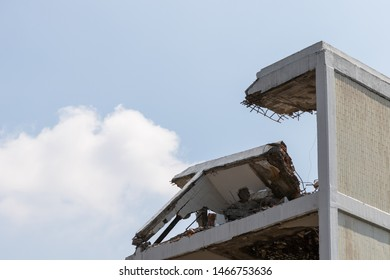 Building Being Demolished Images, Stock Photos & Vectors