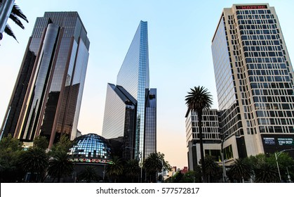 MEXICO CITY, MEXICO - DECEMBER 24, 2016 : The biulding of Stock Exchange Market