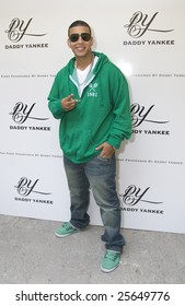 """MEXICO CITY - FEBRUARY 18 - Singer Dady Yankee attends the  """"Talento de Barrio"""" new CD and """" Daddy Yankee"""" New Fragance Launch at Universal Music Mexico Headquarters in Mexico City; Mexico February 18, 2009"""