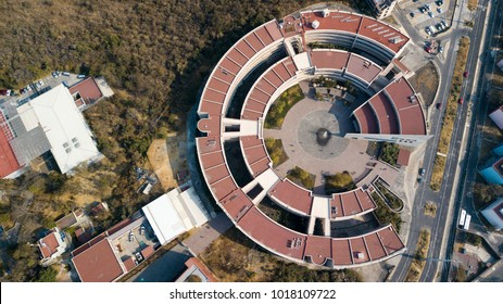 Mexico City, Mexico, January 15th 2018, Architecture of UNAM, Unidad de Posgrado