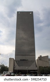 Mexico City, Mexico - July 26, 2014: prisma tower SAT mexico by Ramon Torres