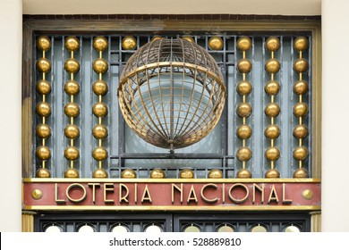 Mexico City, Mexico - July 7, 2013: National Lottery building (Loteria Nacional de Mexico) located on Paseo de la Reforma in Mexico City.