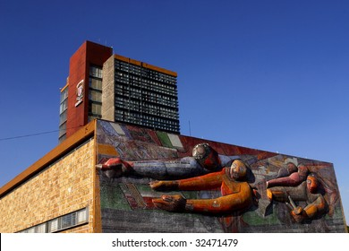 MEXICO CITY, JUNE 15: The Universidad Nacional Autonoma de Mexico, UNAM, on June 15, 2009 in Mexico City. UNAM has been awarded the 2009 Principe de Asturias award.