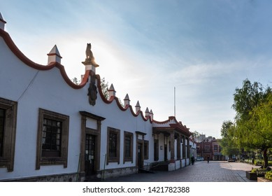 Mexico City, Mexico, June 8, 2019. Traditional place in Mexico City.