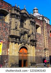 Mexico City, San Lorenzo Deacon Parish and Martyr Street Belisario Domínguez