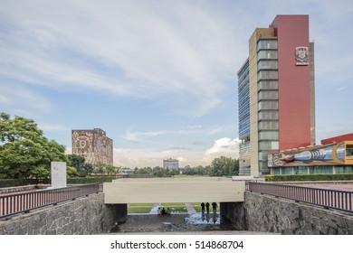 MEXICO CITY, SEP 1, 2016: National Autonomous University of Mexico UNAM Mexico City Federal District Mexico.