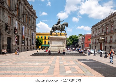 MEXICO CITY,MEXICO - JULY 12,2018 :  The National Museum of Art in the historical center of Mexico City
