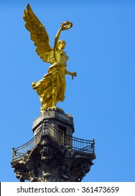 Mexico City's Independence Monument was built as part of the War of Independence centennial celebrations in 1910.