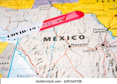 Mexico Coronavirus Covid-19 Quarantine background