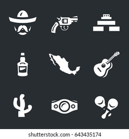 Mexico Icons.