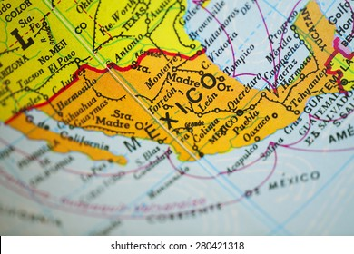 Latin America Map Physical Stock Photos, Images & Photography ...