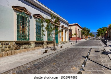 Mexico. Oaxaca de Juarez, the capital city of Oaxaca state. Historic Centre of the city is on UNESCO World Heritage Site