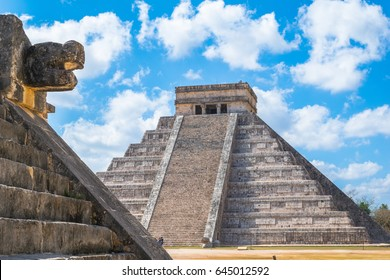Chichén Itzá - Mexico, one of the Seven Wonders of the World an Unesco World Heritage.