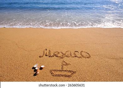 Mexico summer beach