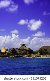 The Mexico Town Of Costa Maya