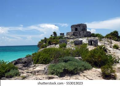 Mexico - Tulum ruins by the sea - Yucatan