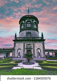 Mexico/Chapultepec-01/30/2018: Chapultepec castle astronomic centre