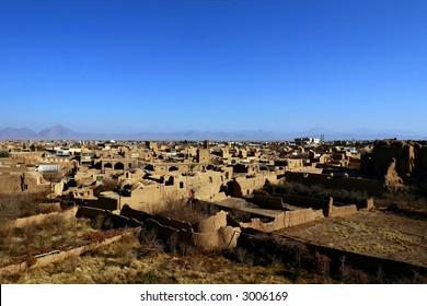 Meybod city, Iran