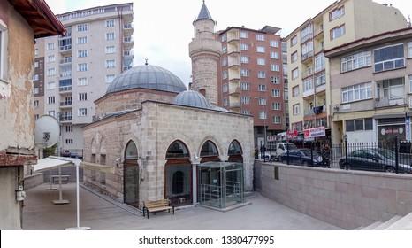 Meydan Camii at Kütahya restorated and opened at 2017 and build at 1413