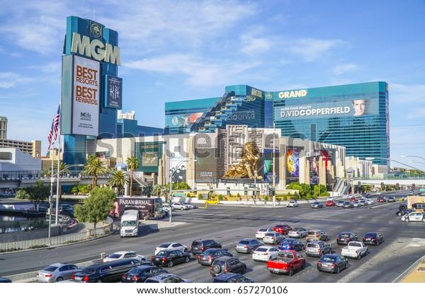 Mgm Grand Hotel Casino Las Vegas Stock Photo Edit Now 657270106