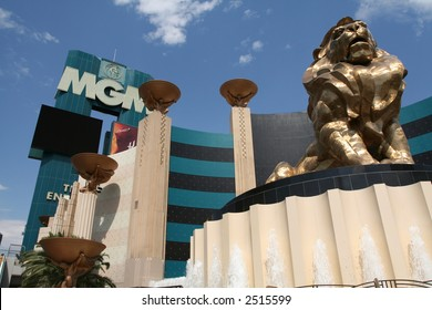 The MGM Hotel and Casino in Las Vegas, Nevada