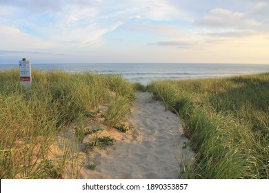 Miacomet Beach on Nantucket Island