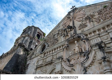Miagao church, the centerpiece of the town, and one of very few Baroque churches in the Philippines