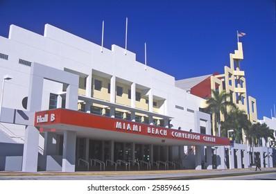 Miami Beach Convention Center, Miami, Florida