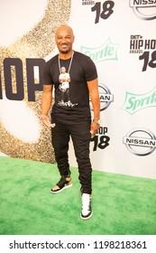 Miami Beach, Florida/USA - October 6, 2018: BET Hip Hop Awards at the Filmore. Shown: Big Tigger